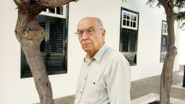 José Saramagos 'En fortælling om blindhed' hører til det absolut bedste fra den gamle mesters hånd, mener denne anmelder. Den genudgives nu af forlaget Rosinante. Arkivfoto