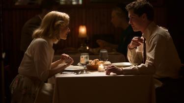 Sarah Gadon og Logan Lerman i 'Indignation'.