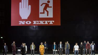 En nyopsætning af operaen 'Mahagonny' rummer fortsat stykkets gamle splittelse mellem opdragende samfundskritik og forførende musik