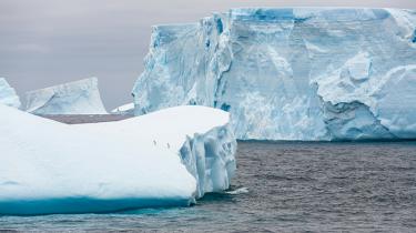 global opvarmning Antarktis Arktis isen smelter