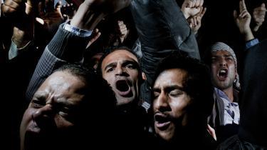 Under og efter Det Arabiske Forår i 2011 fik salafister stor fremgang ved valgene. Salafisterne betragtede deres fremgang som en guddommelig sejr og et tegn på, at Gud endelig rakte dem en hjælpende hånd efter 1.400 års fravær. På billedet ses demonstranter på Tahrir-pladsen i Cairo i 2011.
