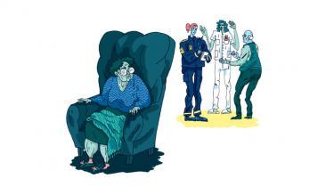 I slutningen af maj 2016 blev en ældre kvinde i en domsmandssag fundet skyldig ved Retten i Glostrup i overtrædelse af straffelovens § 119, stk. 1. Kvinden var dog forinden fritaget for at møde frem i retten, fordi, som hendes læge skrev i en erklæring, »hun er uden bevidsthed om sine handlinger« og »behøver hjælp til alle funktioner i dagligdagen«. Alligevel skal hun dække sagens omkostninger