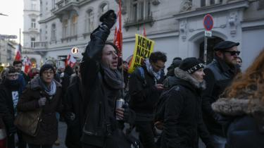 Protest mod populisterne på højrefløjen – som her i Østrig – har antændt debat om konventionerne. Derfor opfordrer jurister til at tage en saglig offentlig debat.