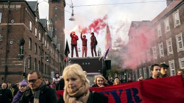 Demonstration mod TTIP i København tidligere i år.