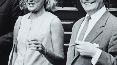 Tove Ditlevsen sammen med sin daværende mand Victor Andreasen