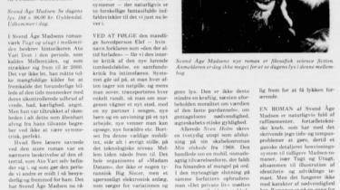 For knap 37 år siden anmeldte Torben Brostrøm den dengang nyeste roman af Svend Åge Madsen, Se dagens lys, under rubrikken Oprør fra fremtiden