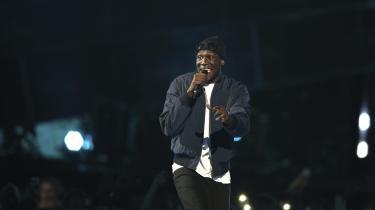 Stormzys debutplade, 'Gang Signs & Prayer', markerer på flere måder begyndelsen på en ny æra for grime-genren. Her er han på scenen ved årets BRIT Awards, som fandt sted nogenlunde samtidig, som pladen blev udgivet.