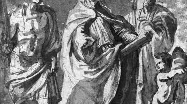 Augustin var uddannet i græsk og romersk filosofi, men lagde fornuften på hylden til fordel for troen. Illustration: 'Saint-Augustin', skitse af den flamske maler Rubens