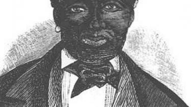 Moses Gottlieb eller general Buddhoe, der har fået en ophøjet status som leder af oprøret mod slaveriet i dansk vestindien, selvom man reelt ved meget lidt om ham. Træskæring fra 1888.