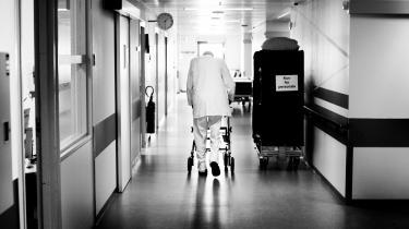 Palliativ afdeling på Nordsjællands Hospital. (Arkivfoto)