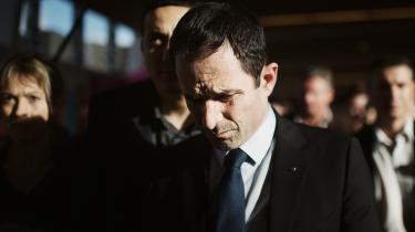 Benoît Hamon var den store atber ved weekendens franske præsidentvalg, men det er endnu usikkert, hvad konsekvensen bliver af de franske socialisters store nedsmeltning.