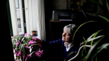 Ellen Ryg Olsen udgav i 2005 bogen 'Syge på tvangsarbejde', fordi alvorligt syge personer, som egentlig burde have førtidspension, ifølge hende i stort omfang blev sendt i arbejdsprøvning. Arkivfoto