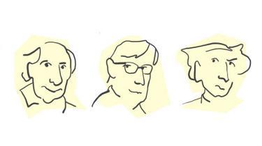 Information kårer Frankrigs ti vigtigste intellektuelle. Vi starter med nr. 10 til 8.