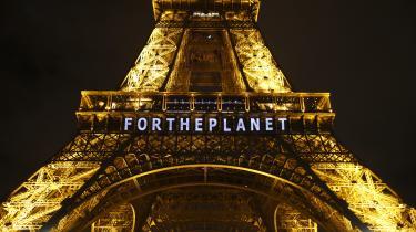 Paris under COP21, da klimaet stadig var et vigtigt emne på den politiske dagsorden. Det er det ikke længere – i det franske valg er der ingen af de to præsidentkandidater, der taler specielt meget om klimaet.