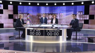 Den til tider kaotiske nævekamp til tv-duellen onsdag aften blev fundet uværdig af kommentatorerne, og den flyttede næppe mange stemmer.