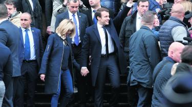 I går sikrede Emmanuel Macron sig fem år som Frankrigs næste præsident efter en sikker sejr over Front Nationals Marine Le Pen.