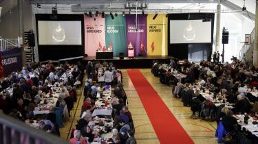 Enhedslisten holdt i weekenden årsmøde på Nørrebro i København. Her blev partiets 21 spidskandidater blandt andet valgt.
