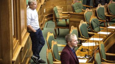 Uffe Elbæk og Alternativet holder landsmøde i denne weekend.