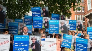 Vreden over Brexitgiver Ed Davey – og Liberaldemokraterne generelt – håb om, at de kan genvinde mange af de kredse, partiet tabte ved 2015-valget.Her har han sluttet sig til en demonstration i weekenden.