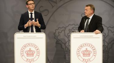 Statsminister Lars Løkke Rasmussen (V) og skatteminister Karsten Lauritzen (V) præsenterede på et pressemøde tirsdagregeringens plan om at afskaffe det nuværende SKAT og i stedet oprette et nyt skattevæsen, bestående af syv styrelser spredt ud over hele landet.