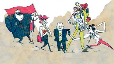 Er du en netværksliderlig lobbyist eller en samfundsengageret pensionist i fornuftige sko? Svar på otte spørgsmål og find ud af, hvilken slags gæst, du er på Folkemødet