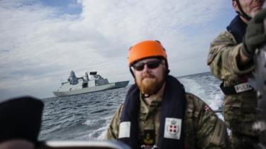 Information er taget med på den store Østersø-øvelse BALTOPS for at se, hvordan den danske flåde forbereder sig på fremtidens krig