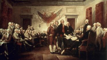 I udgangspunktet handlede Den Amerikanske Revolution om, hvem der skulle bestemme i den nye verden. Paine hæver indsatsen betragteligt, idet han gør det helt akutte spørgsmål om koloniernes stilling i forhold til England til et spørgsmål om hele menneskehedens fremtid. I stedet for alene at gøre Uafhængighedskrigen til et spørgsmål om, hvem der skal bestemme, gør han det til et spørgsmål om, hvordan det overhovedet skal se ud, når nogen bestemmer.