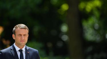I sit første interview til pressen, siden han blev valgt til ny fransk præsident, udstikker Emmanuel Macron retningslinjer for sin udenrigspolitiske agenda i forhold til Syrien, Trump, Brexit og europæisk integration