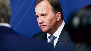 Sveriges statsminister, Stefan Löfven.
