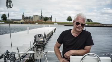 Lars Grynnerup er glad for at sejle på havet og i bevægelse politisk. Han vil sætte sin stemme ved et parti, der tror på det sociale i mennesket.