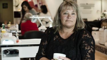 Jobkonsulent og coach Janni Christensen stemmer Dansk Folkeparti. 'Nogle af dem er jo ikke engang integreret til at kommunikere på dansk med deres egne døtre,' siger hun