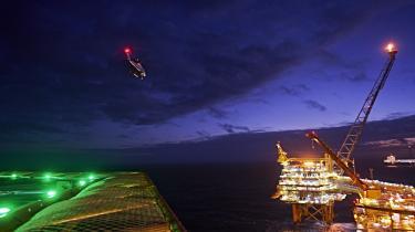 Halfdan-platform i Nordsøen overtages nu – sammen med resten af Mærsls platforme – af Total.