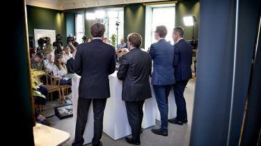 »Når vi belønner folk, der arbejder, skaber vi ulighed,« sagde skatteminister Karsten Lauritzen (V) ved præsentationen af regeringens skatteudspil tirsdag og erkendte, at »Danmark bliver et lidt mere ulige land efter denne reform.«