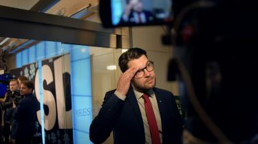 I Sverige sagde Sverigedemokraternas leder, Jimmy Åkesson, på partiets sommermøde i weekenden, at 'Sverige ikke er et land for alle. Vores velstand er ikke hele verdens velstand'.