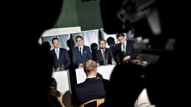 Regeringen præsenterede tirsdag sit udspil til en skattereform. Her sagde skatteminister Karsten Lauritzen, »at denne her reform skaber jo ulighed, og det gør vi med åbne øjne.«