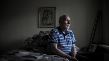 Erwin Meyer begyndte at tage cannabisdråber for sine smerter i januar. Han er ikke i tvivl om, at de virker: »Jeg har prøvet alverdens præparater og akupunktur, men ingenting kunne dysse smerterne ned. Nu kan jeg endda støvsuge lidt, selv om jeg ikke bryder mig om det,« siger han