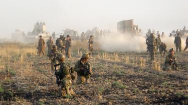 De kurdiske pehsmergaer spillede en nøglerolle, da byen Kirkuk blev generobret fra Islamisk Stat i 2015. Kurderne mener, det berettiger dem til at indlemme byen i Irakisk Kurdistan.