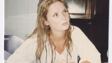 Anna von Sperling ved studiestart.