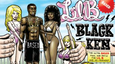 Internetrapperen Lil B har med sit nye album 'Black Ken' begået en mesterlig omgang meta-hiphop