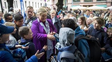 Mandag skal Norge vælge, om den siddende borgelige regering med Høyre og Fremskrittspartiet skal blive ved magten.