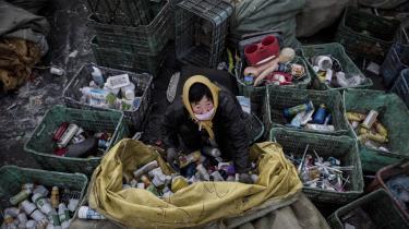 I foråret har Kina besluttet, at landet vil stoppe for import af plastikaffald. Det udfordrer blandt andet Danmark, som eksporterer en del plastikaffald, der formentlig ender i Kina.