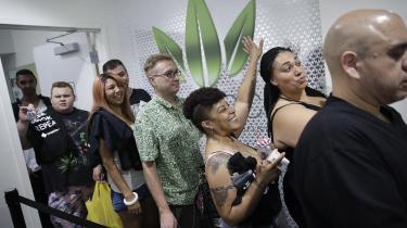 Ni stater i USA har legaliseret både medicinsk og rekreationel brug af cannabis, og der er nu kun fire stater tilbage, som ikke har tilladt medicinsk cannabis i en eller anden form.