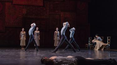 'Silk & Knife 2' med Den Kongelige Ballet rammer tilskuerkroppen med en overvældende skønhedskraft