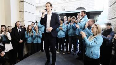 Sebastian Kurz er leder af et af Østrigs traditionelle magtpartier, det konservative ÖVP. Alligevel har Kurz, der er udenrigsminister, formået at fremstå som en fornyer af det politiske system, og partiet er i højere grad centreret omkring hans person end om et ortodokst partiapparat.