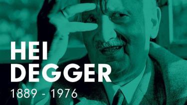 Martin Heidegger meldte sig ind i nazistpartiet i 1933. Efter krigen fik han i en periode forbud mod at undervise