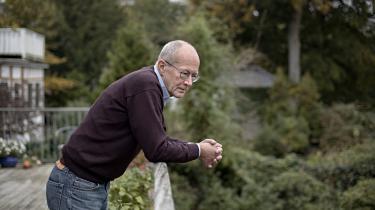 Jens Henrik Wiene har arbejdet i fagbevægelsen det meste af sit liv, men blev pensioneret sidste år. Nu er han Alternativets spidskandidat i Gentofte Kommune.