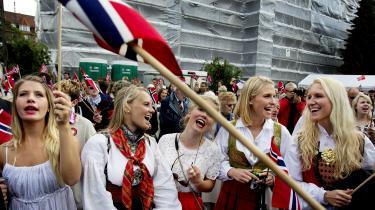 Nordmænd i Danmark fejrer den norske nationaldag.