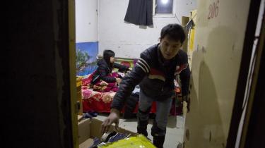 I Beijing er en boligblok med migranter blevet bedt om at rømme deres boliger. Det sker som led ien 40 dage langkampagne mod ulovlige byggerier, iværksat af Beijings partisekretær Cai Qi.