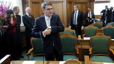 Erhvervsminister Brian Mikkelsen fik erhvervspakken vedtaget med støtte fra Dansk Folkeparti. Den kommer især Danmark allerrigeste til gavn.