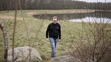 »Jeg bærer mit stigma på min krop. Downs Mosaik er til at få øje på.«, skriver Nikolaj Kristian Carlsen.